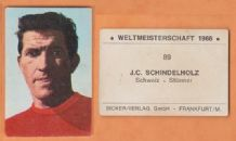 Switzerland Jean Claude Schindelholz Servette